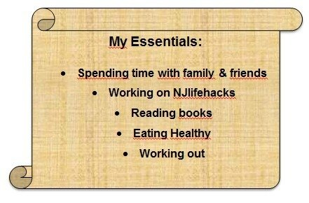 My essentials: simplify your life