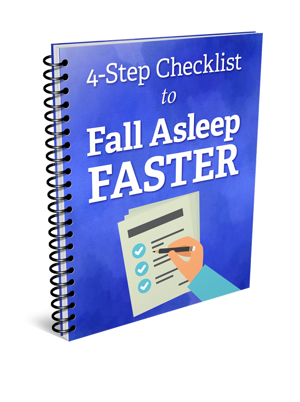 fall asleep faster checklist