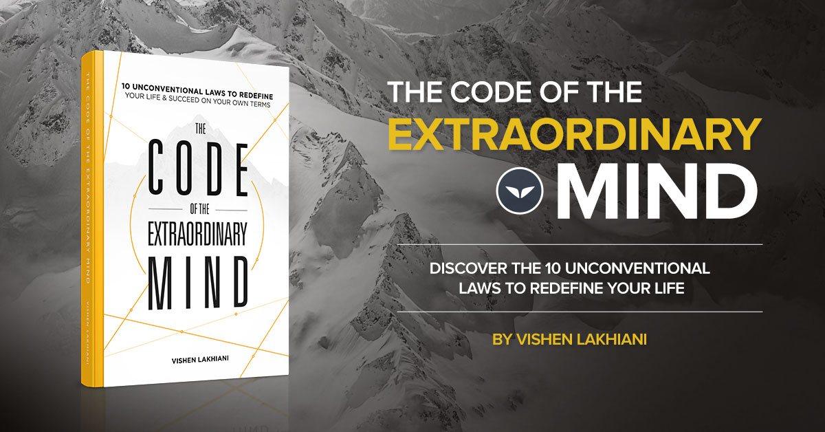 code of the extraordinary mind by vishen lakhiani - book summary