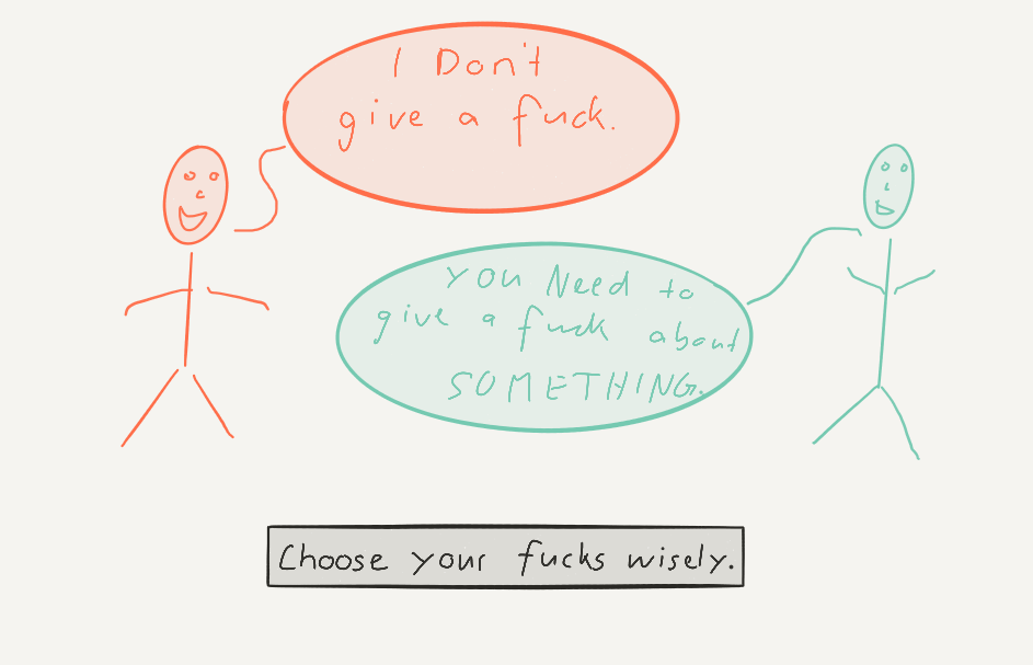 The Subtle Art of Not Giving a Fuck by Mark Manson Summary