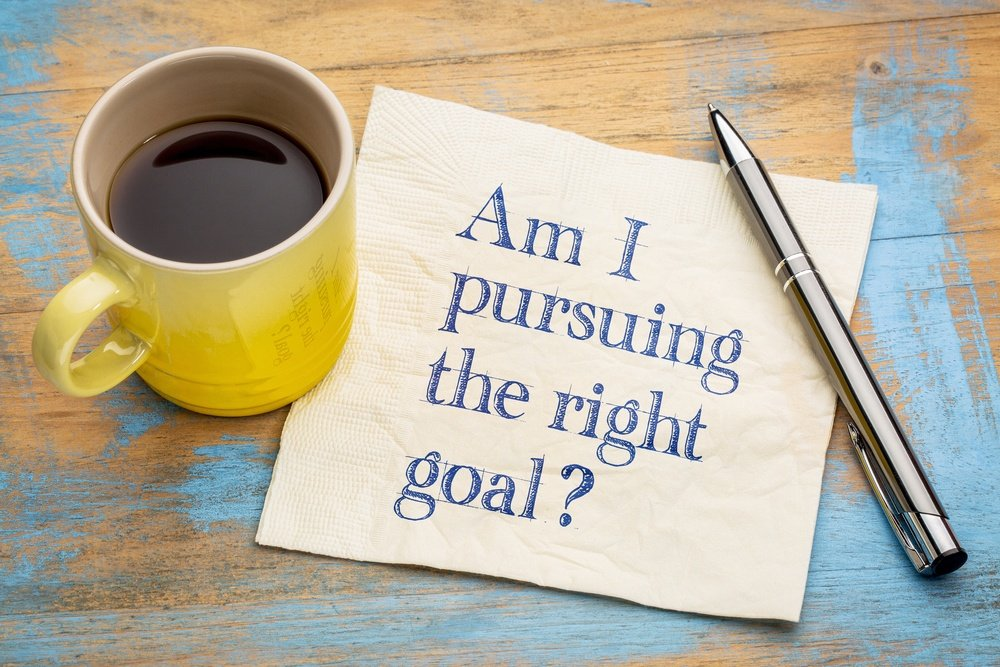 extrinsic goals and intrinsic goals