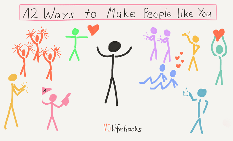 how to make people like you