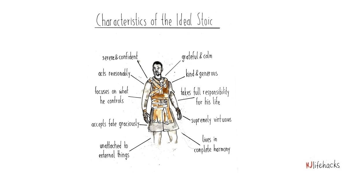 The Characteristics of the ideal Stoic