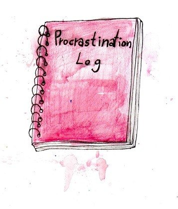keeping a procrastination journal