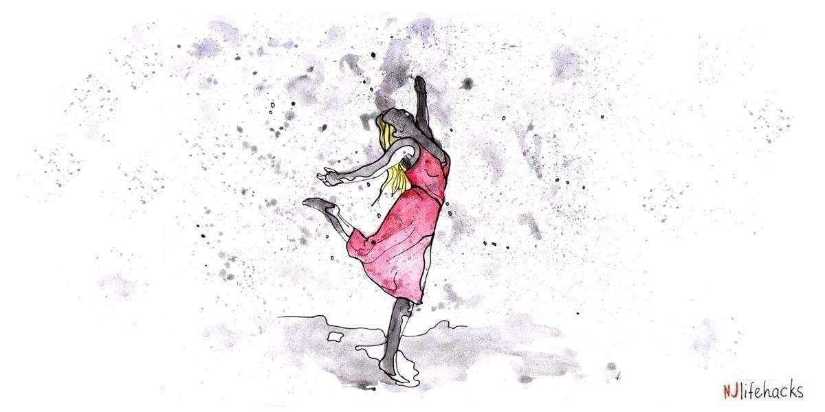 The Stoic practice voluntary discomfort like dancing in the rain will make you stronger