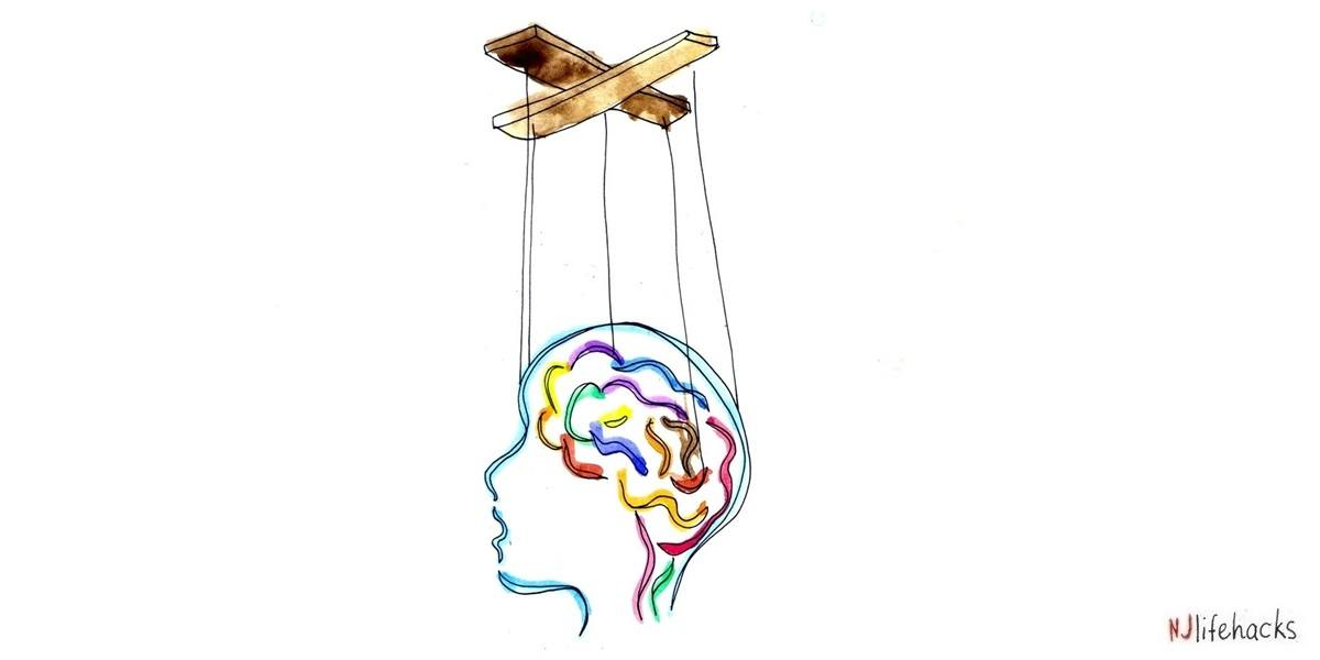 don't let your mind be like a puppet