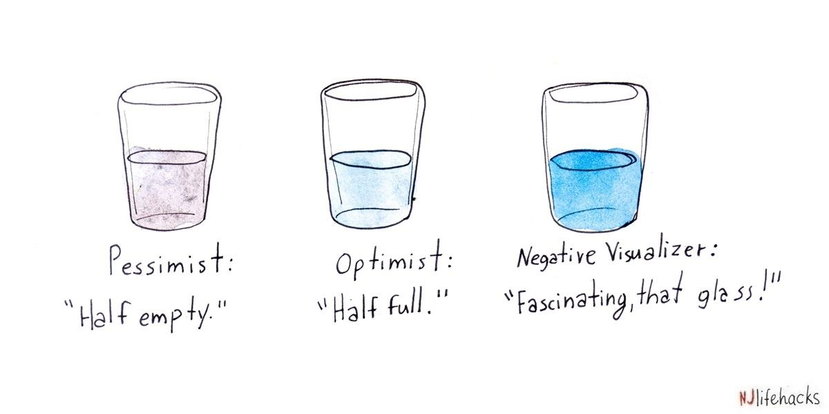 Negative visualization makes you optimistic