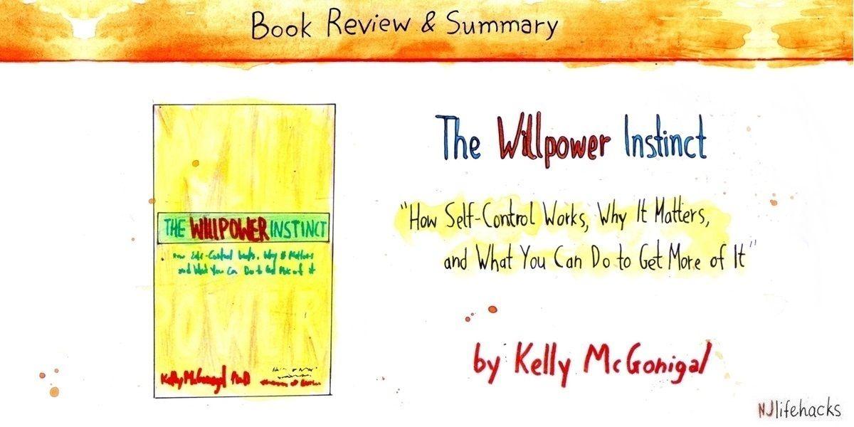 the willpower instinct kelly mcgonigal book summary