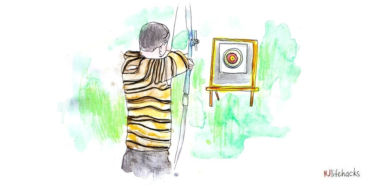 The Stoic Archer. Focus on the process like Michael Phelps