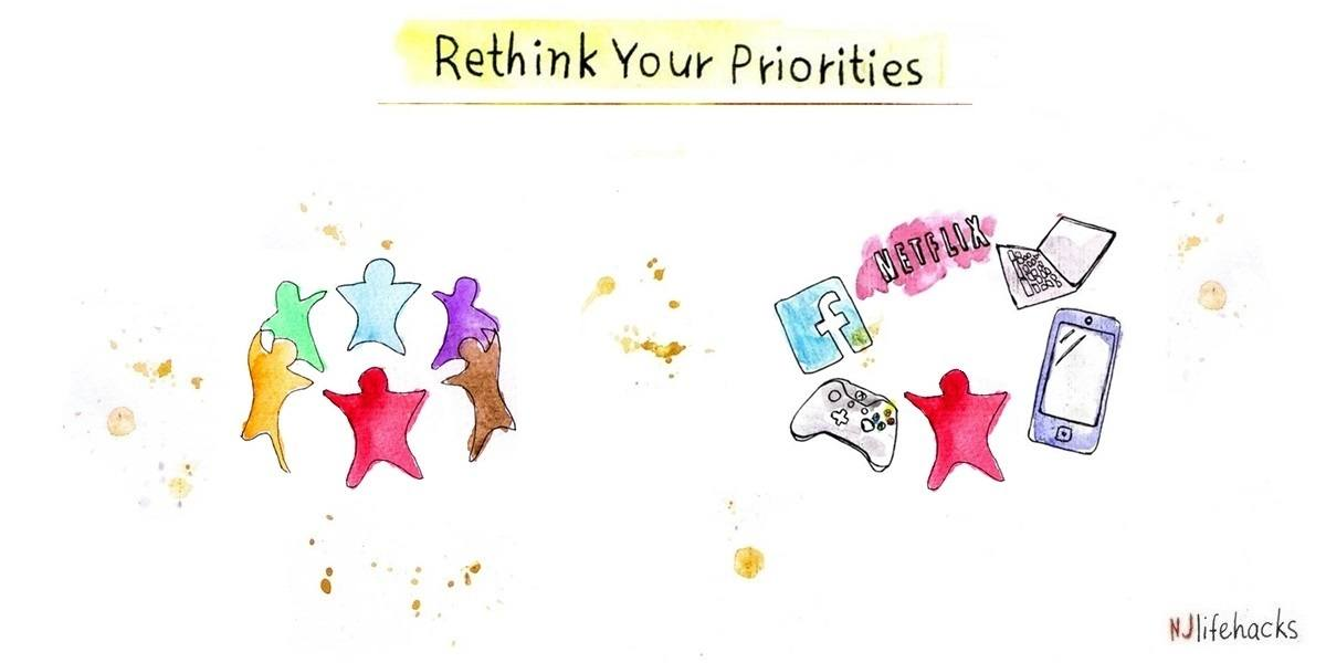 Rethink your priorities and get better at what matters