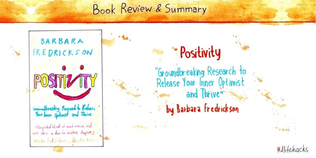positivity barbara fredrickson book summary
