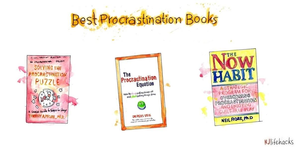 best books on procrastination books